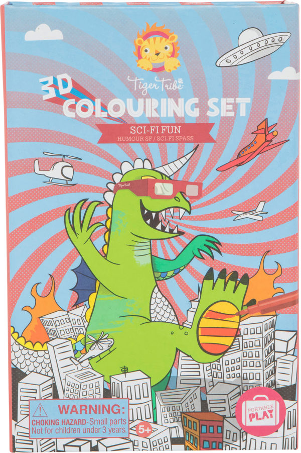 Sci Fi Fun - 3D Coloring Set