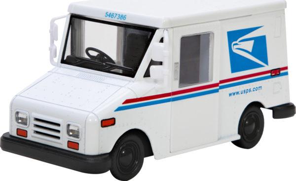 Diecast Mail Truck