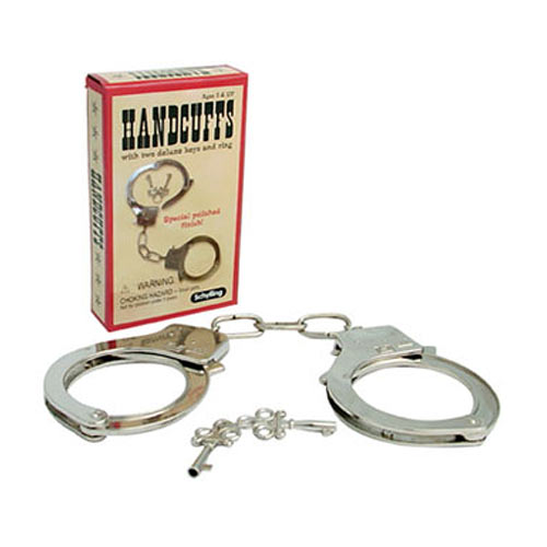 Metal Hand Cuffs With Keys