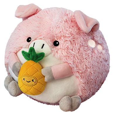 "Mini Pig w/ Pineapple (7"")"