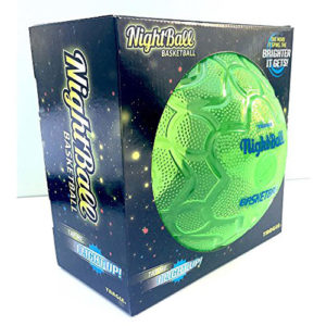 Tangle Sportz Matrix NightBall Basketball - green