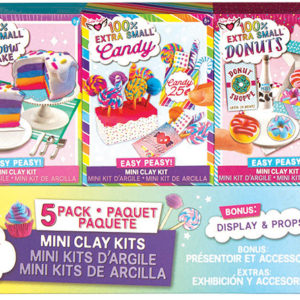100% Extra Small Super Sweet Mini Clay Kits - 5 pack