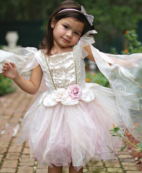 Great Pretenders Golden Rose Fairy Dress Size 5-6