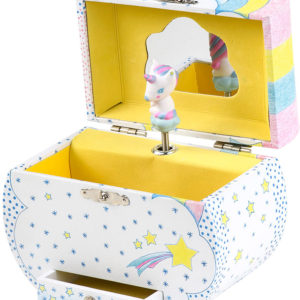 Unicorn Dream Treasure Music Box