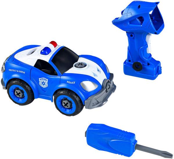 Power Driver Rescue Squad Police Cruiser