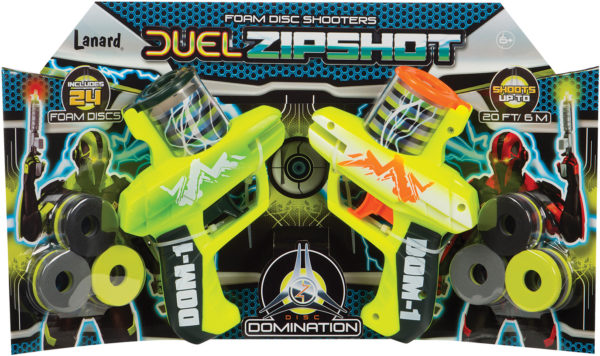 DUEL ZIP SHOT TWIN PACK