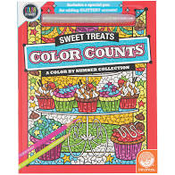CBN- Color Counts- Glitter Sweet Treats