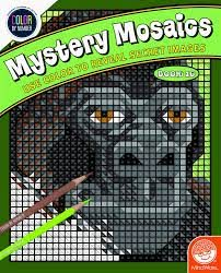 CBN-Color Counts-Mystery Mosaics Book
