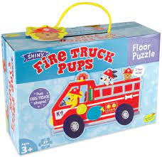 Fire Truck Pups Floor Puzzle