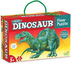 Floor Puzzle Shiny Dinosaur