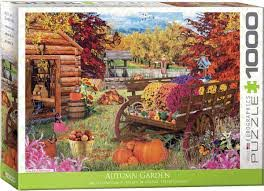 Gardening Puzzles-Autumn Garden by Paul Normand