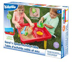 Sand N Splash Activity Table