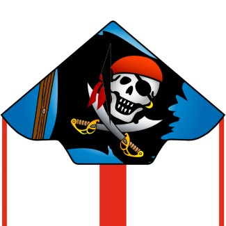 Simple Flyer Jolly Roger Large