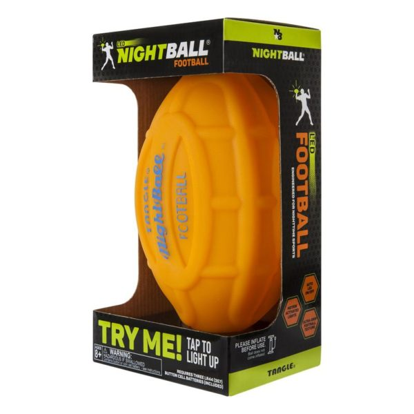 Tangle Inflated Football Orange