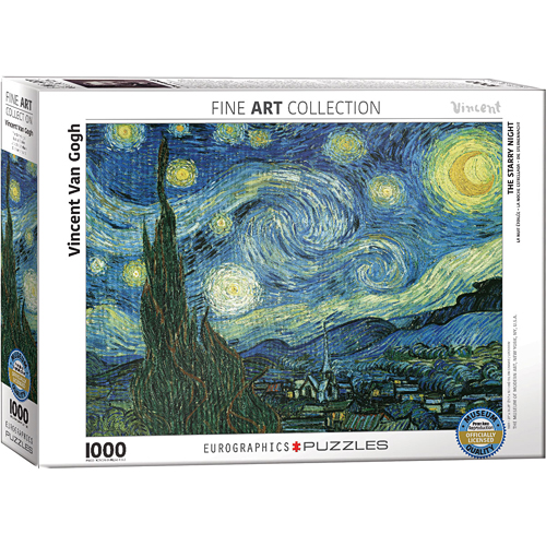Post-Impressionism Puzzles - Starry Night by Vincent Van Gogh