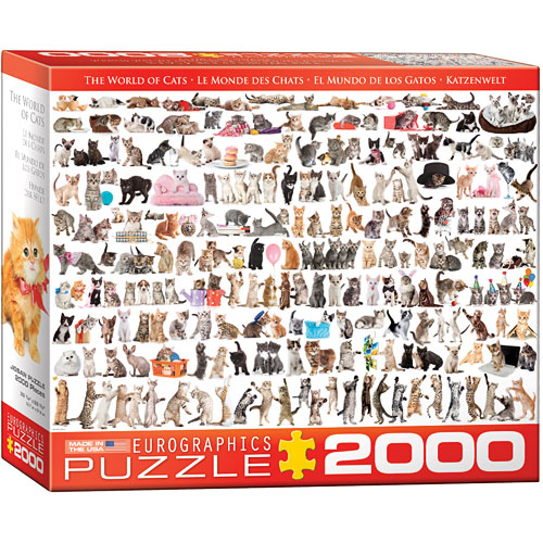 2000 Pieces - THE BIG PUZZLE COLLECTION - The World of Cats