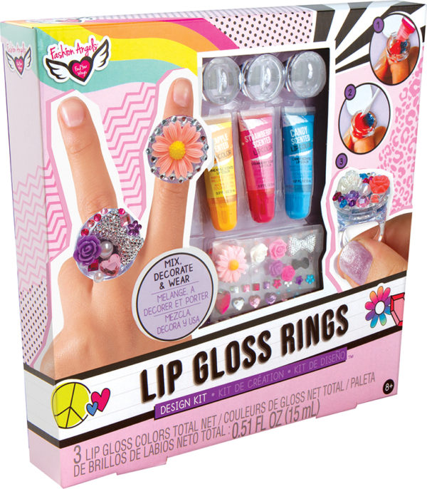 Lip Gloss Rings Design Kit