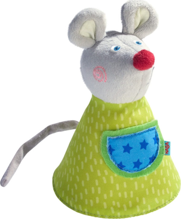 Clutching Soft Toy Maggy The Mouse