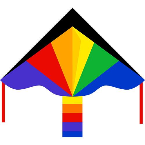 """Simple Flyer Rainbow 47"""""""