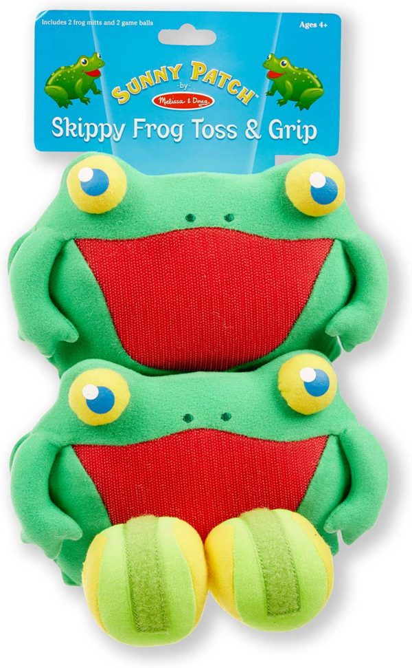 Skippy Frog Toss & Grip