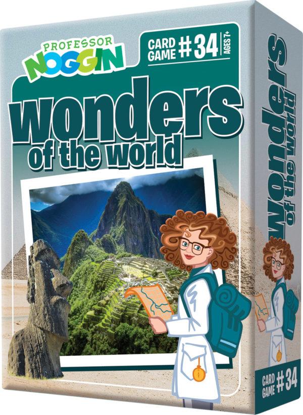 Prof. Noggin Wonders Of The World