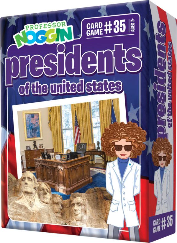 Prof. Noggin Presidents Of The Us