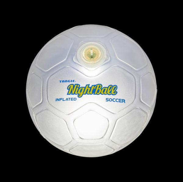 NightBall® LED Soccer Ball - Pearl White - Size 5