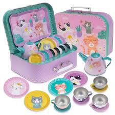 15pc Cat Tea Set