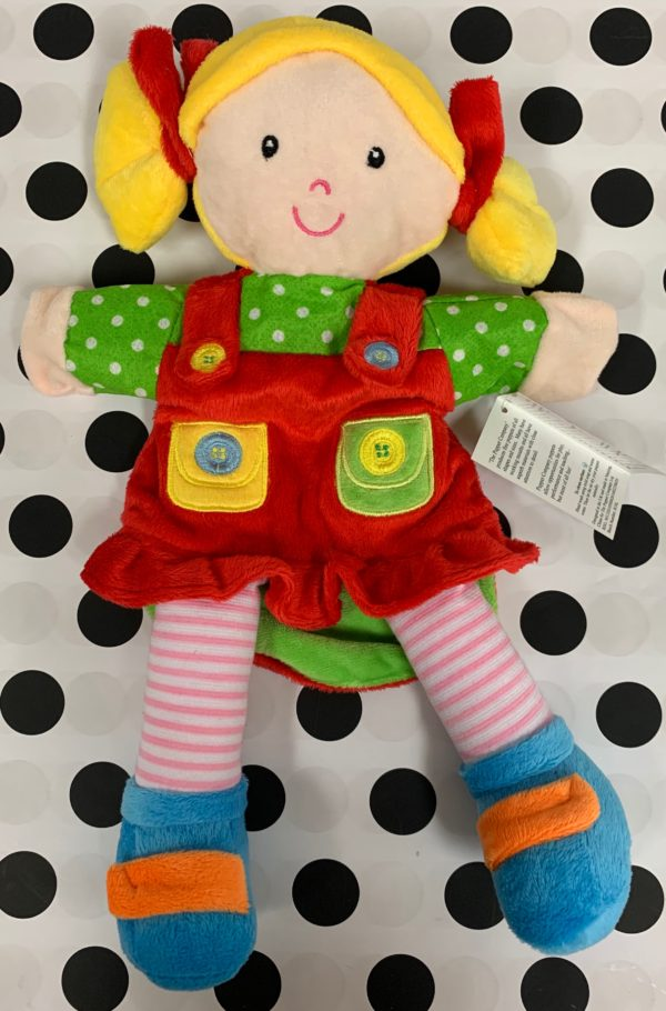 Girl Puppet (Red Outfit)