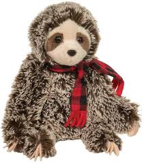Bramley Sloth with Scarf