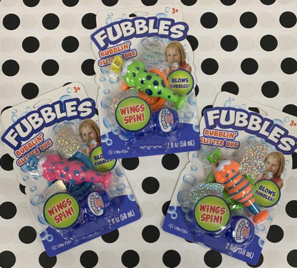 Fubbles Bubblin' Glitter Bug