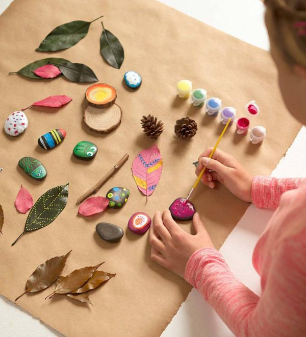 Rock and Leaf Craft Kit