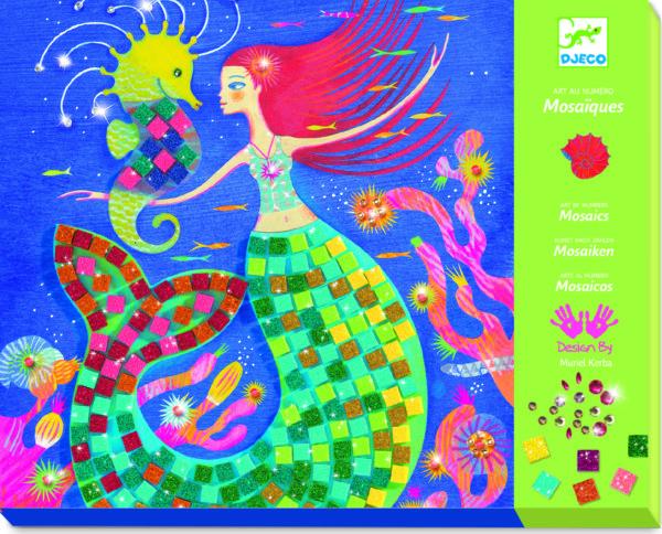 Lga Mosaics The Mermaid'S Song