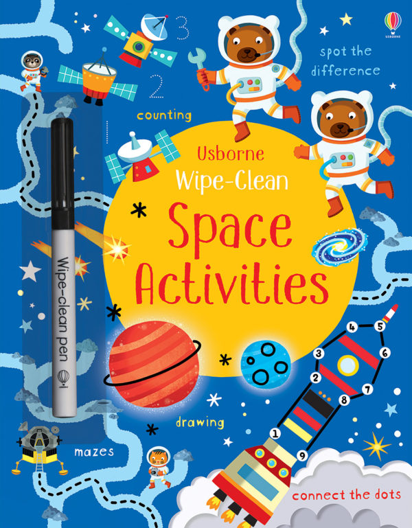 Wipe-Clean, Space Activities