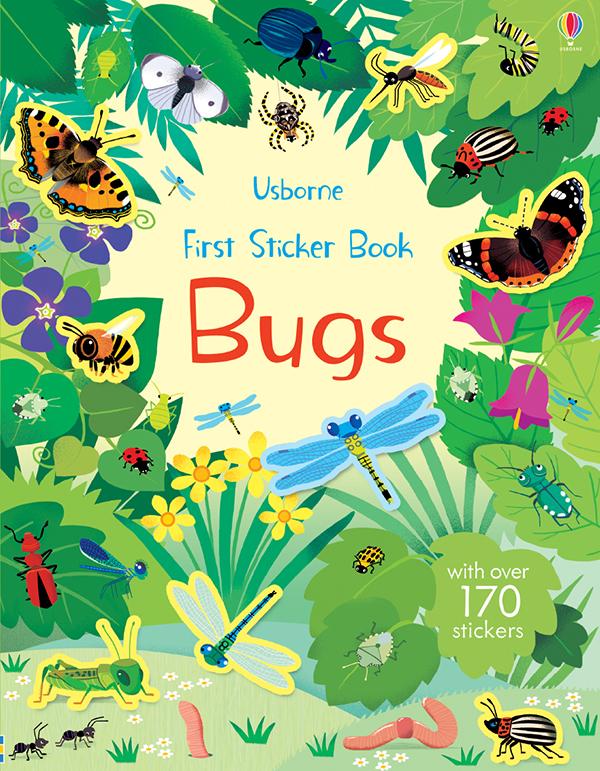First Sticker Book, Bugs (Ir)