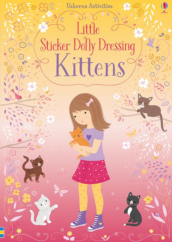 Little Sticker Dolly Dressing Kittens