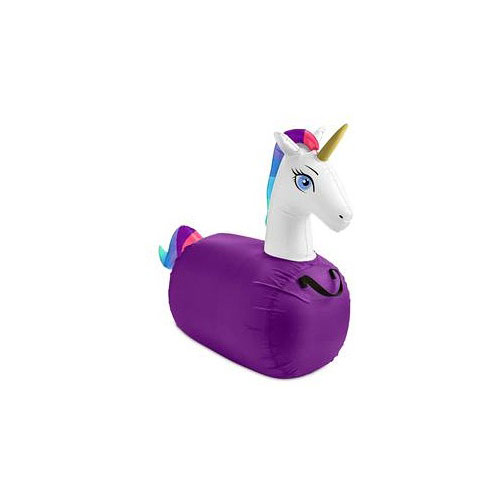 S/2 Inflatable Jump Along Unicorn