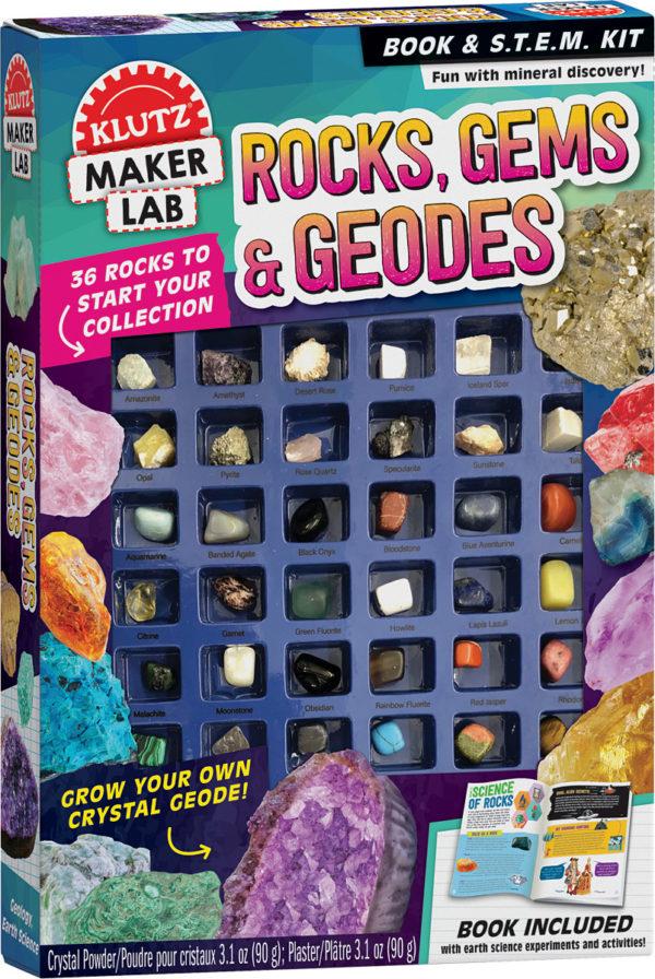 Rocks, Gems & Geodes