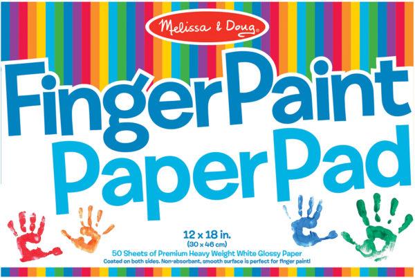 Finger Paint Paper Pad