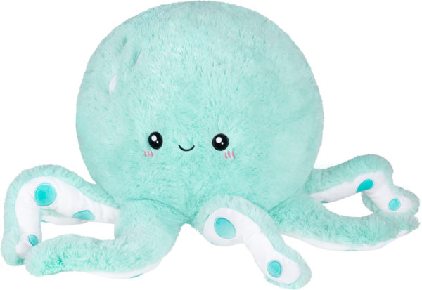 "Cute Octopus Mint (15"")"