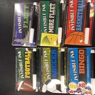 Lee Publications game assortment