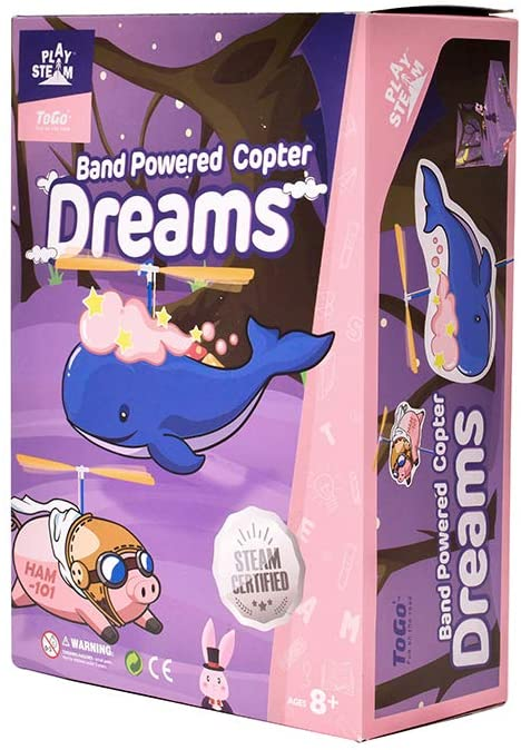 Band Powered Copter Dreams