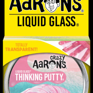Rose Lagoon Liquid Glass Thinking Putty