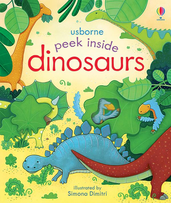 Peek Inside Dinosaurs