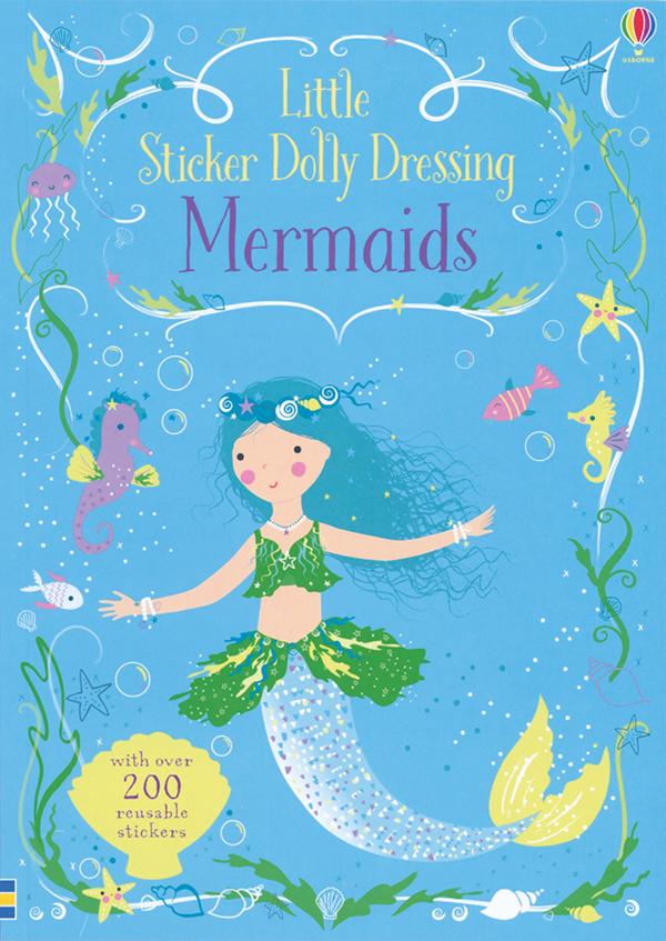 Little Sticker Dolly Dressing Mermaids