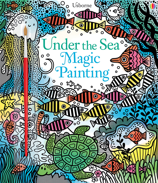 Magic Painting Book, Under The Sea