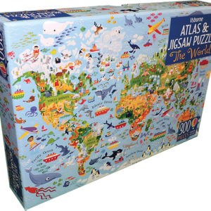 World, The - Atlas & Jigsaw Puzzle (Ir)