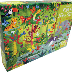 In The Jungle - Book & Jigsaw Puzzle