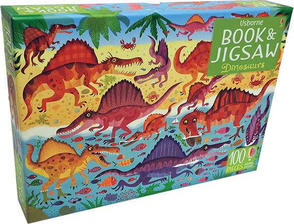 Dinosaurs - Book & Jigsaw Puzzle