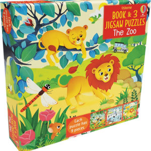 Zoo, The - Book & 3 Jigsaw Puzzles
